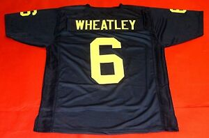 Image is loading TYRONE-WHEATLEY-CUSTOM-MICHIGAN-WOLVERINES-JERSEY 70cdbb3a7
