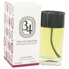 34 Boulevard Saint Germain Diptyque 3.4 oz Eau De Toilette Spray Women & Men NIB