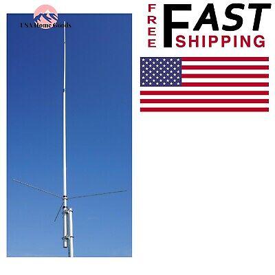 Tram Amateur Dual-Band Base TV Antenna Heavyduty Fiberglass Outdoor  VHF Signal