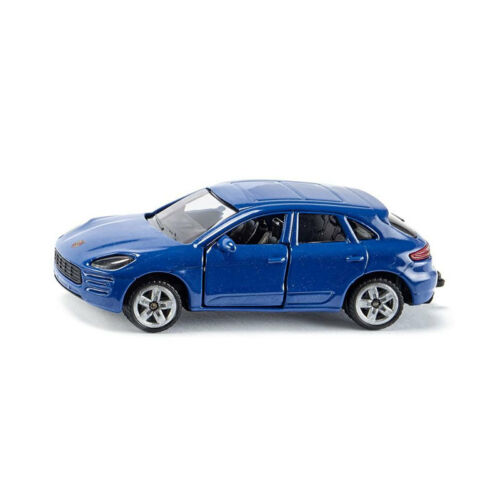 ° Siku 1452 Porsche Macan Turbo Farbe: blaumetallic Maßstab 1:55 Blister NEU
