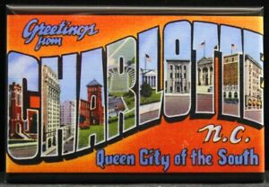 Details about  /Greetings From North Carolina Refrigerator Magnet Vintage Retro