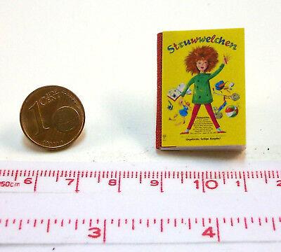 M1zu12 Puppenstube Puppenhaus Struwwelchen 1033# Miniatur Kinderbuch