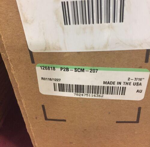 DODGE 126818 PILLOW BLOCK BEARING P2B-SCM-207  NEW IN BOX