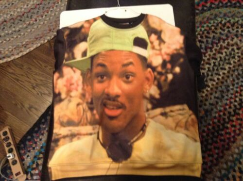 Fresh Rare Xxl Sz Will Print All Over Prince Sneak Gallery Crew Sweatshirt Smith rIqwS6I