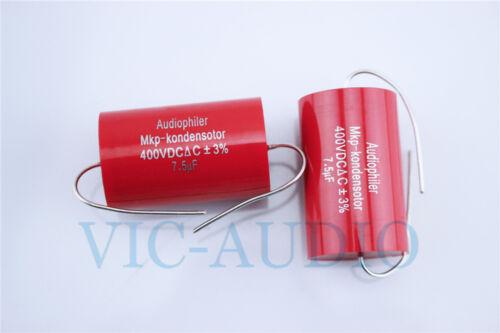Audiophiler MKP Kondensotor 400V 7.5uf 3/% Audio Capacitor 7.5uf Capacitance