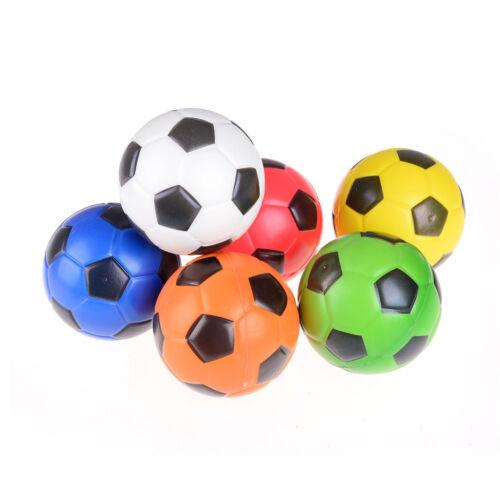10Cm PU sponge anti stress ball bouncy football kid toy outdoor sports game LS