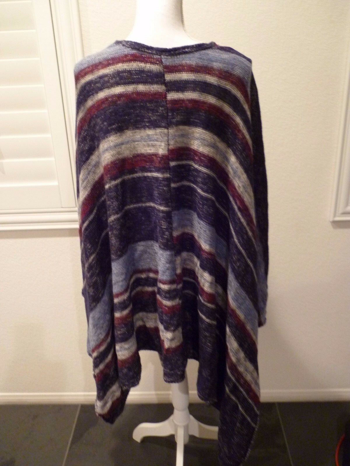 Free People The Big Trail Poncho  retail XS PS