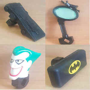 McDonalds-Happy-Meal-Toy-1996-Batman-Bicycle-Plastic-Accessories-Toys-Various