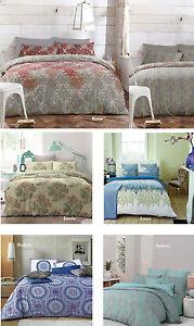 Apartmento-Reversible-Quilt-Doona-Cover-Set-Single-Double-Queen-King-5-Designs