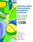 The MacArthur-Bates Communicative Development Inventories User's Guide and Technical Manual by Donna Thal, J. Steven Reznik, Elizabeth Bates, Philip S. Dale, Virginia A. Marchman, Larry Fenson (Paperback, 2006)