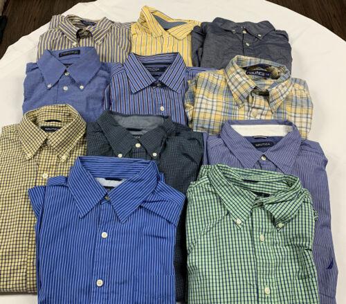 Nautica Button Down Shirts Set of 11