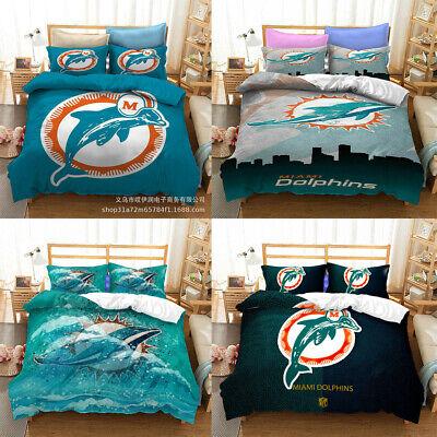 Miami Dolphins All Season Bedding Set, Miami Dolphins Bedding Sets