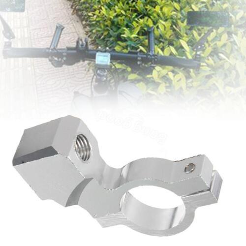 Handlebar 10mm Thread Mirror Base Block Mounts For Motorcycle Bike Accessory GH