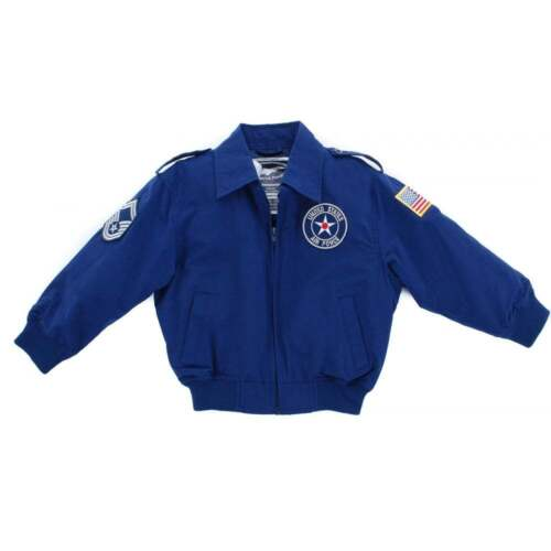 Up and Away U.S Air Force 3 Patch Kids Jacket