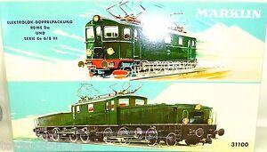 Coccodrillo-Locomotiva-Elettrica-Set-Serie-da-Serie-Ce-6-8-III-Marklin-31100