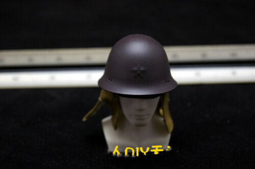 "1//6 Soldier Metal WWII Helmet Cap Model Accessory Toy Fit 12/"" Action Figure"