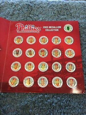 Fanartikel Modestil Philadelphia Phillies 2005 Medaillon Sammlung Münze 21 Piece Krankheiten Zu Verhindern Und Zu Heilen