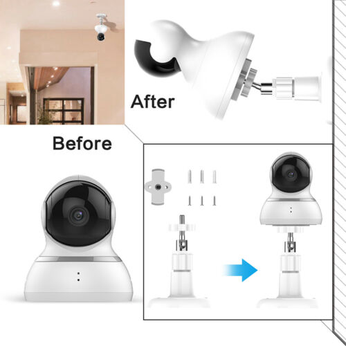Adjustment  Wide Wall Mount Wall Mounted Bracket Holder for YI Dome Camera New