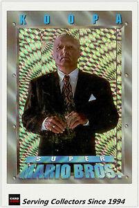 Australia-Dynamic-Super-Mario-Bros-Trading-Cards-Prism-Card-P3-Koopa