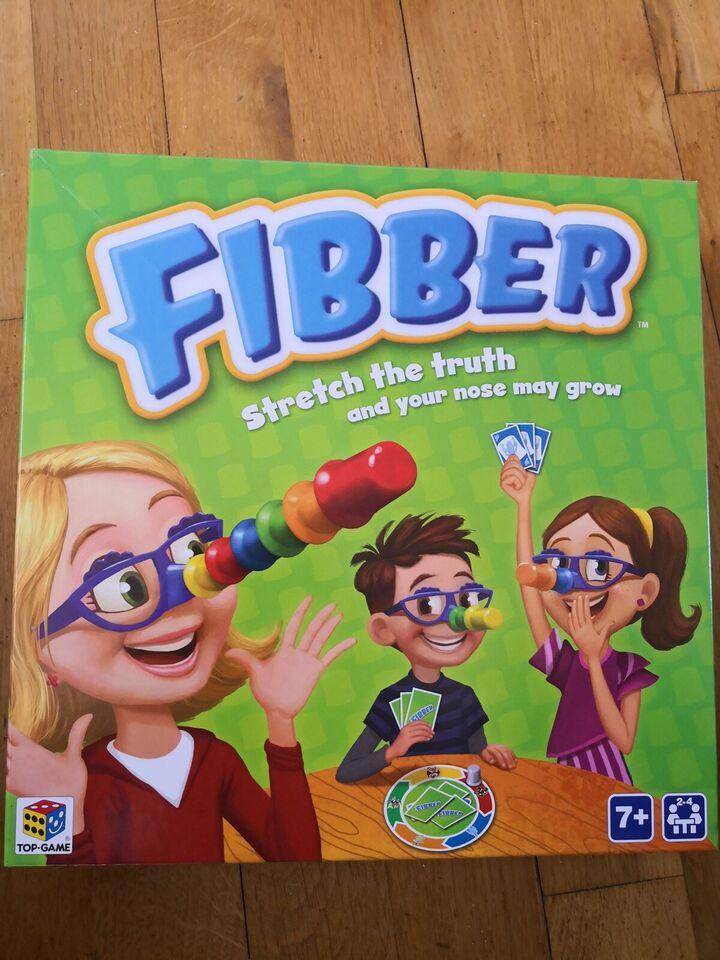 Andet legetøj, Spil - Fibber, Logik