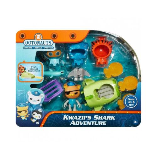 Octonauts Kwazii/'s Shark Adventure Playset New