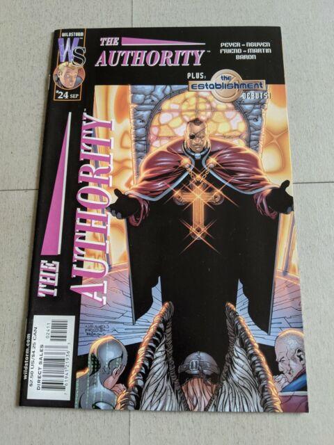 The Authority #24 September 2001 DC Wildstorm Comics