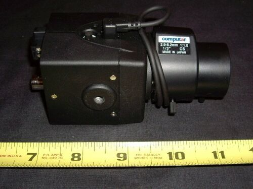 1 x used Pelco CCC1380UH-6 and 1 x used TG3Z2910FCS Wide Angle Lens