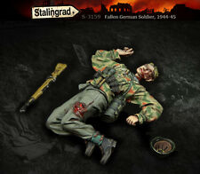 1/35 Scale resin model kit WW2 Fallen German