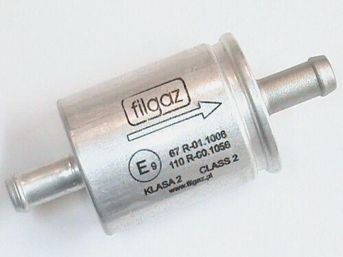 ALU-Filter LPG Autogas Gasfilter Filgaz 12//12mm