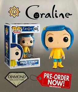 Coraline In Raincoat Funko Pop Vinyl Diamond Glitter Ebay