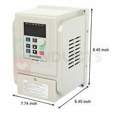 Vfd 2hp 220v 15kw Single To 3 Phase Speed Controller Variable Frequency Drive
