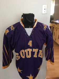Image is loading MENS-SMALL-LACE-UP-Hockey-Jersey-SOUTH-ALL- 2b72c2879