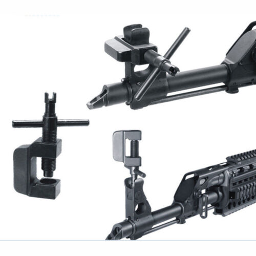 Hunting Tactical Black Rifle Sight Adjustment Tool For A-K SK Mount Accessory