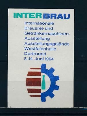 Interbrau Dortmund 64 Vertrieb Von QualitäTssicherung FäHig 583764 Vignette Brauerei Ausst