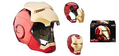 Marvel Legends AVENGERS Licensed DELUXE IRON MAN Electronic Helmet PROP Replica
