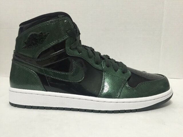 Nike Air Jordan 1 Retro Shoes Grove Green Black 332550-300 Mens Size 10.5 49ed623c2