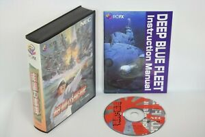 Details about KONPEKI NO KANTAI deep blue fleet Ref/083 Boxed PC-FX NEC  Japan Game pf