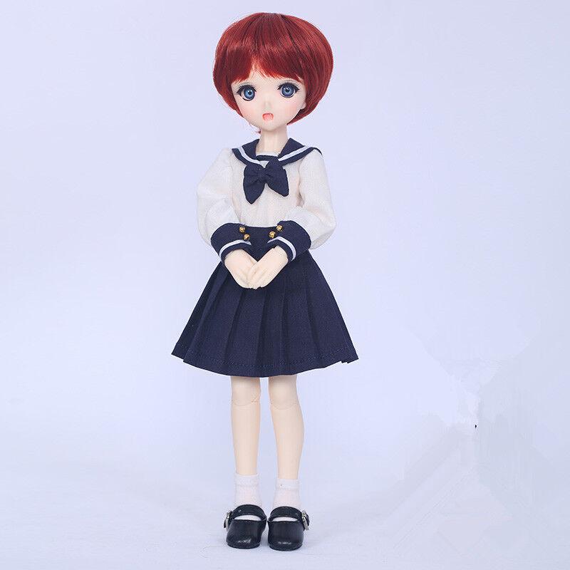 1 6 muñeca de BJD SD muñeca Moe libre de cara maquillaje ojos + Gratis