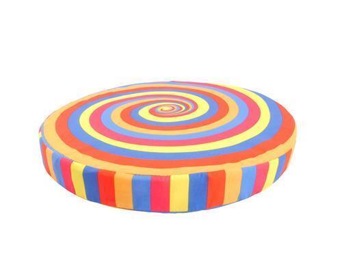 Coussins farbwirbel environ 40 cm Coussins De Chaise déco cercles