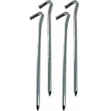 Highlander 23Cm 9  Steel Wire Pegs C&ing Shelter Tent Hooks Support 4 Pack  sc 1 st  eBay & Highlander 23cm 9