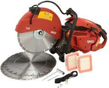 Hilti Handheld Gas Saws 3 Blades Filter Reversible Wheels Metal Spring Bushings