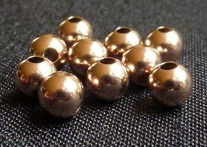 Rose-Gold-filled-beads-round-beads-metal-beads-6mm-jewelry-findings-supplies