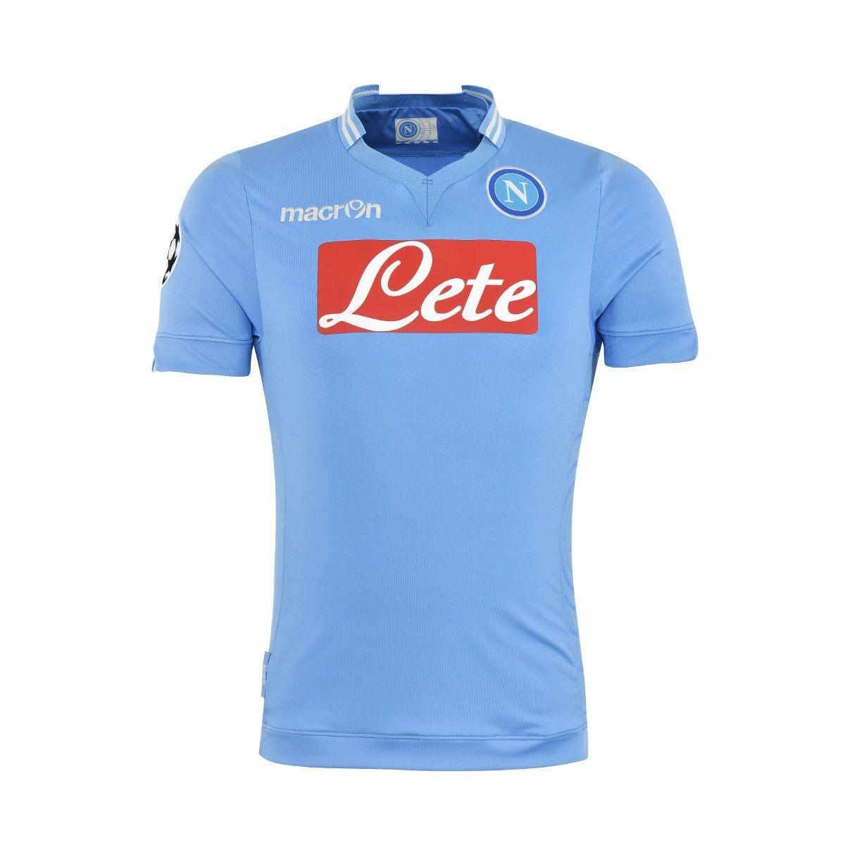 Fw13 SC Nápoles S S. mclaron camiseta campeón kamisetta