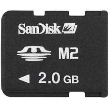2GB SanDisk M2 Memory Stick Micro Card SDMSM2-2048 100% Genuine For SONY Phones
