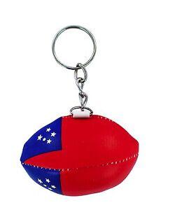 PORTACHIAVI pelle porta chiavi auto pallone rugby bandiera Scozia  maglia polo