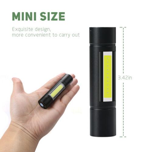 Mini USB Rechargeable Lampe De Poche 2000 LM XPE s//n DEL Torche Lampe Lampe Torche #