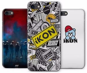 promo code 5644d 000ee Details about IKON KPOP KOREAN BOY BAND RUBBER PLASTIC PHONE COVER CASE FOR  APPLE IPHONE