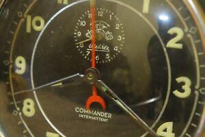 Super-Rare-WeHrle-Commander-Intermittent-Unique-Alarm-Clock-Pompeii-glass-66