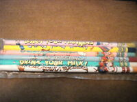 Howdy Doody 1988 Original Six Pack Of Pencils Still In Wrapper, New, Mint