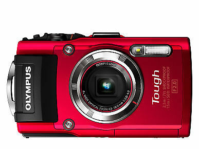 OLYMPUS TG-3 DIGITALKAMERA Wasser + Stoßfest 16 MP - 4x Zoom - WiFi GPS -wie NEU